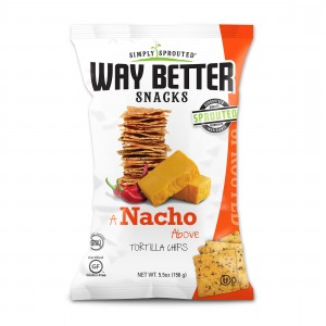 a nacho above