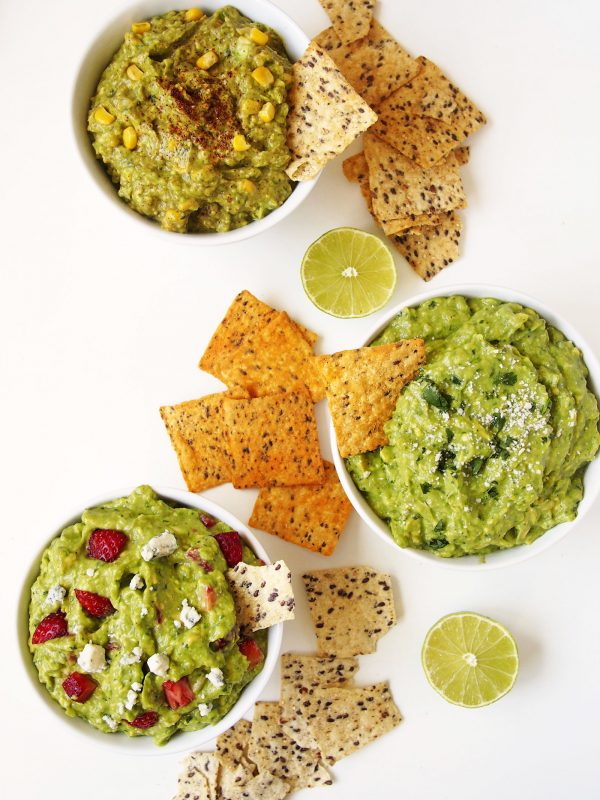 Three guacamole recipes are better than one. Check out these way better pairings!