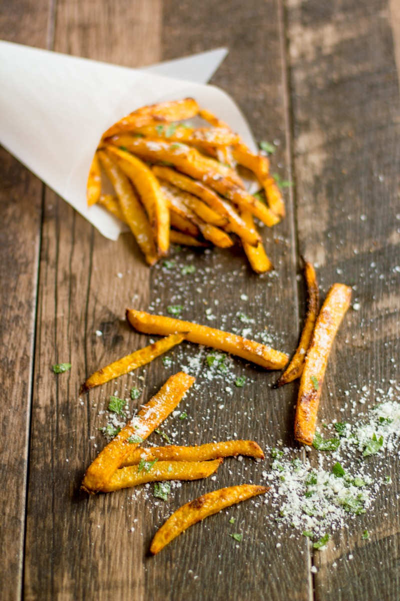 These pumpkin fries will turn even pumpkin naysayers into #pumpkineverything converts.
